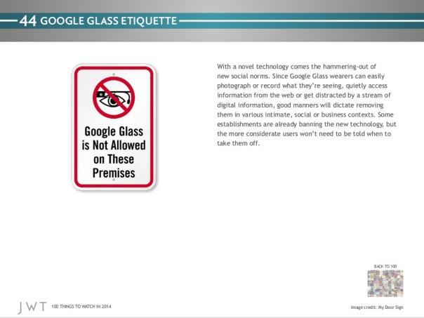 jwt - etiqueta google glass