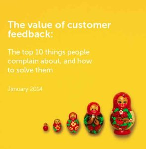 value of customer feedback